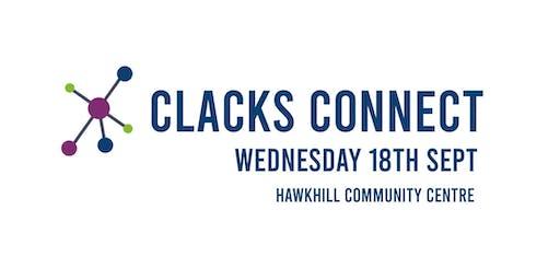 Clacks Connect CTSI's Funders Fayre 2019
