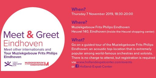 Meet & Greet Eindhoven: November 2019