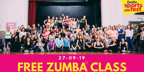 Free Zumba® Class - Part of Dublin SportsFest Week tickets