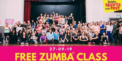 Free Zumba® Class - Part of Dublin SportsFest Week