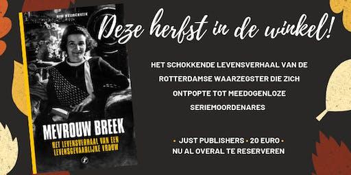 Boekpresentatie 'Mevrouw Breek' van Kim Heijdenrijk