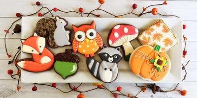 Woodland Creatures Intermediate Cookie Decorating Class - Spring Hill
