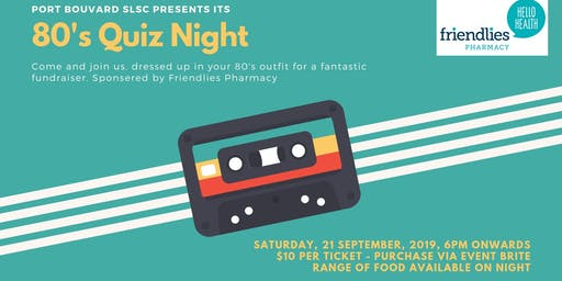 80's Quiz Night