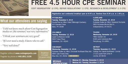 CPE Seminar - Columbus, Fall 2019