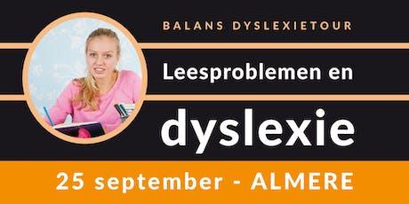 Balans Dyslexietour - Almere tickets