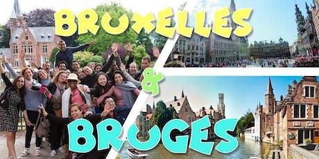Weekend Bruges & Bruxelles 28-29 septembre, 79,9€ Super Promo billets