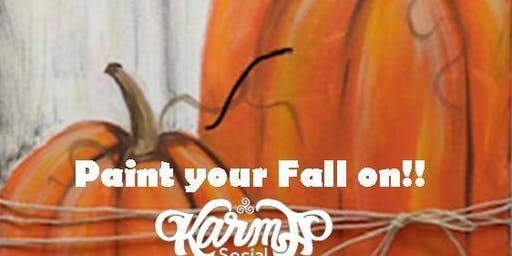 Paint Your Fall On!