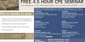 CPE Seminar - Cleveland, Fall 2019