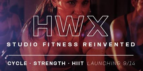 HWX: BOLDER. STRONGER. SWEATIER. Cycle, Strength, and HIIT Classes