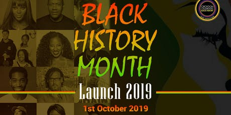 Black History Month 2019 Launch tickets