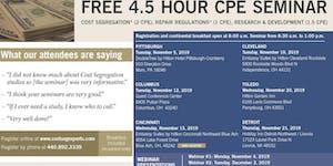 CPE Seminar - Toledo, Fall 2019