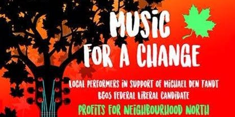 Music For A Change tickets