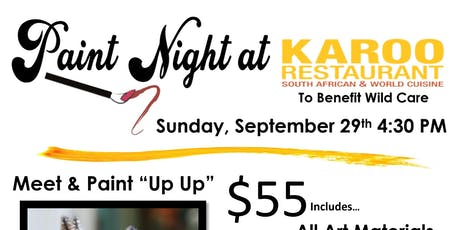 Owl Paint Night at Karoo to Benefit Wild Care tickets