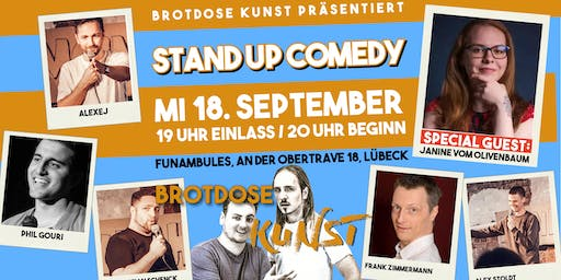 Brotdose Kunst Stand Up Comedy #7 | Special Guest: Janine vom Olivenbaum