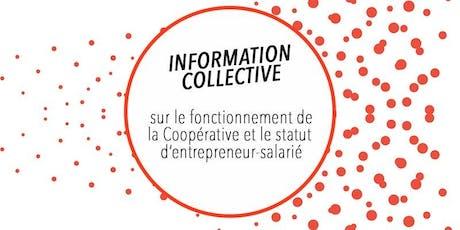 CAE CLARA - Réunion d'information collective du 20 novembre billets