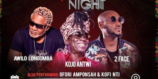 AFRICAN LEGENDS NIGHT
