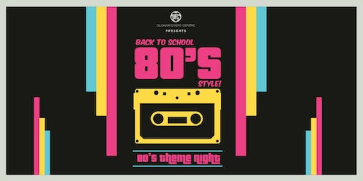 School Disco 80's Night - Ibby Fundraiser