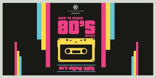 School Disco 80's Night