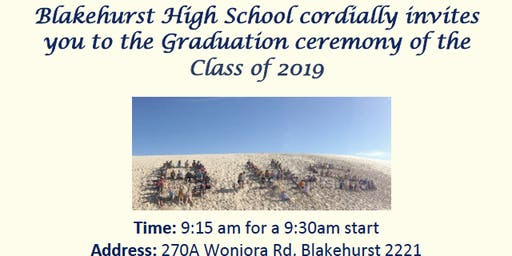 Blakehurst High School Graduation 2019