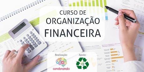 Curso de Organização Financeira ingressos