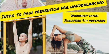 Introduction to Hand Balancing: strength and injury prevention tickets