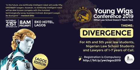 YOUNG WIGS CONFERENCE 2019 - LAGOS tickets