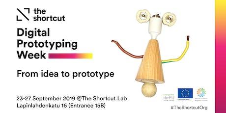 Digital Prototyping Week tickets