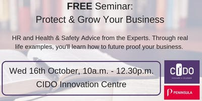 HR, Health & Safety Seminar: Protect and Grow Your Business