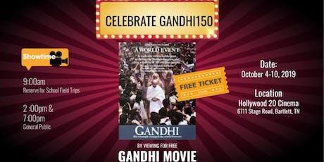 Celebrate Gandhi150- Free Gandhi Movie tickets