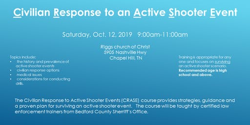 Civilian Response to Active Shooter Event