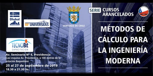 Métodos de cálculo para la ingeniería moderna - Curso en su ciudad - Santiago de Chile