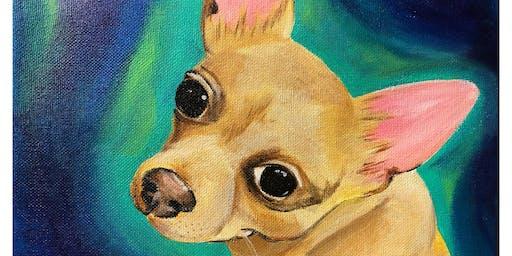 Pet Portrait Class - Acrylic Painting Class