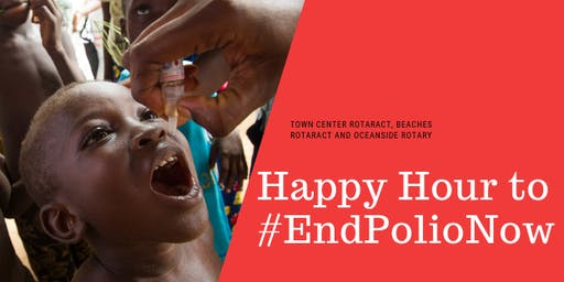 Happy Hour to #EndPolioNow