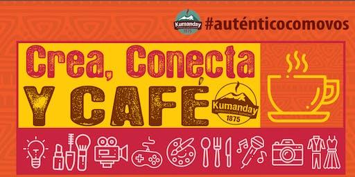 Crea, Conecta y Café