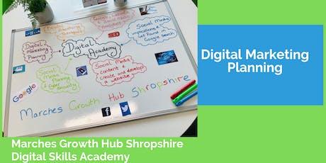 Digital Marketing Planning  tickets