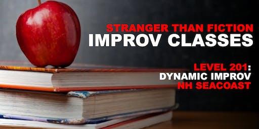 Improv 201: Dynamic Improv (Seacoast) - Fall 2019
