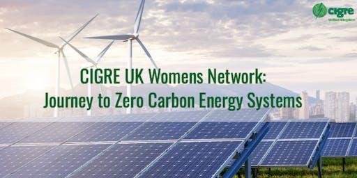 CIGRE UK Women's Network - Journey to Zero Carbon Energy Systems