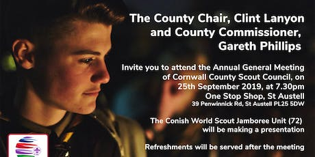 Cornwall County Scout Council Annual General Meeting tickets