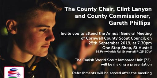 Cornwall County Scout Council Annual General Meeting