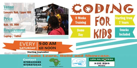 Coding classes for kids tickets