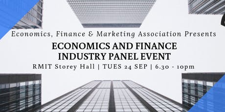 Economics and Finance Industry Panel Night tickets
