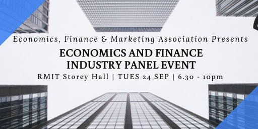 Economics and Finance Industry Panel Night