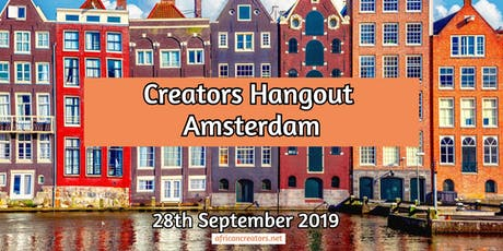 Simple Ingredients to make great online content| Creators Hangout Amsterdam tickets