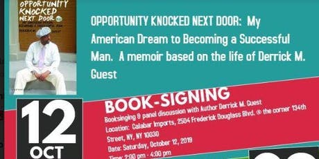 Opportunity Knocked Next Door book-signing and seminar.   tickets