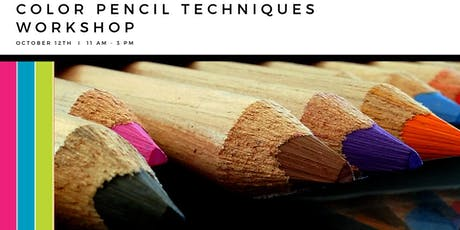 Color Pencil Techniques Workshop tickets