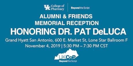 UKCOP Alumni & Friends Reception in honor of Patrick DeLuca - AAPS 2019 tickets