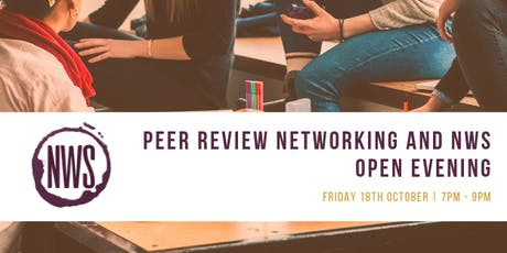 Peer review networking and open evening tickets