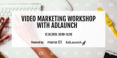 Workshop: Creating  Marketing Videos in 3,2,1