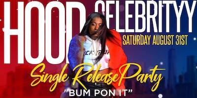 Hood Celebrity Single Release Party |Open Bar + Caribbean Buffet + Free Entry