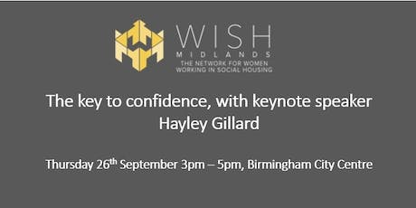 WISH Midlands - Confidence is Key tickets